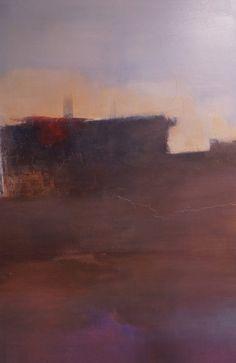Ruimte 2, schilderij van Welmoed Reitsma | Abstract | Modern | Kunst