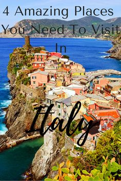 Don't know where to go in Italy because there are like a gazillion great places to visit? I hear ya! So I'm here to help out with 4 spectacular destinations in Italy that I think are worthy of your time. Click through to read all about them and why they m