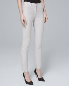 8d6b348e16 Business Attire for Women - White House Black Market Ankle Pants, Work  Pants, Stretches
