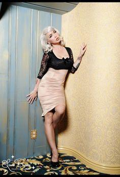 Deadly Dames Je T'Adore Dress in Champagne $148.00 #womensfashion #fashion