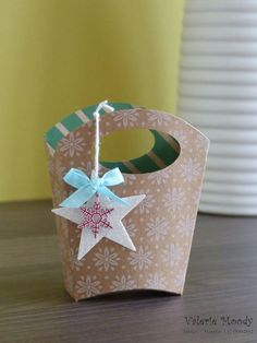 Stampin' Up! - Fry Box Gift Bag - Stamping With Val - Valerie Moody: Independent Stampin' Up! Demonstrator. X