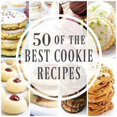This post may contain affiliate links. See my Full Disclosure for further details. Best Cookie Recipes to fill your cookie jar, pack in your lunch-box or just devour straight from the oven. So grab a glass of milk and get ready to drool over these 50 best cookie recipes. Anyone else just obsessed with cookies? …