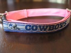 Dallas Cowboys Pink Cat or Small Dog by MisAlaneousCreatures, $9.50