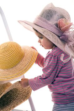 Now What Hat Should I Wear Today?~What A Cutie! @Suzanne Mellott