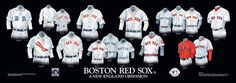 Boston Red Sox Uniform and Team History | Heritage Uniforms and Jerseys