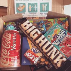 """Got my #taffymail box today! YAY! #lisaphilly #fatbabe #americancandy """