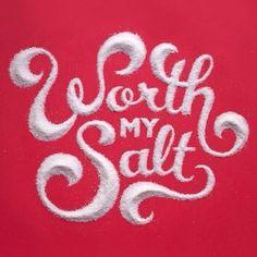 "Typeverything.com ""Worth my Salt"" by spilenka."