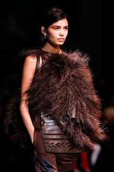 Givenchy Fur fringes