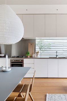 the reason both scandinavian and japanese design have such a similar aesthetic of simplicity, clean lines, light natural wood and openness is due in fact to both countries' history of a scarcity of resources, which then morphed into a philosophy of anti-consumerism creating the byproduct of an appreciation for a minimal aesthetic and functionality