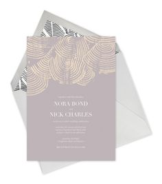 KELLY WEARSTLER X PAPERLESS POST. Invitation | Elope II, Wedding Collection
