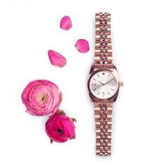 49,95€ Mini Reloj Rosado Corazón Blanco