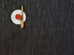 Bamboo Rectangle Placemat in Smoke