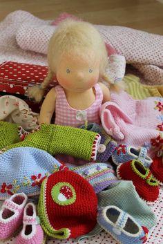 Puppenliesl: Kleiderberge