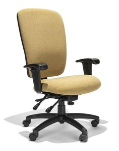 Managers High Back Chair with Seat Slider Tuffcloth Caramel by RFM Seating - 1-800-460-0858 - Free Shipping - Office Furniture 2go.com $398