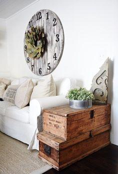 An Elegant Driftwood Lockbox Room