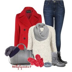 """""""Mittens & Beanies"""" by kellylynne68 on Polyvore"""