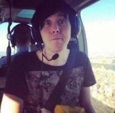 Phil's in a helicopter!?!