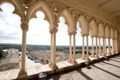 Loggiato del castello di Donnafugata, Ragusa, Sicilia