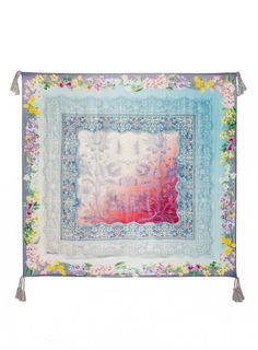 49a34ad1c947e Nellis Scarf The Johnny Was Signature Silk NELLIS SCARF features an  ethereal print that combines soft