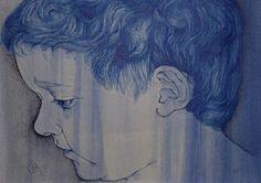 Ink - Bella Goulart phthalo blue