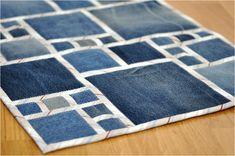 elena_n | Denim rug | Джинсовый коврик