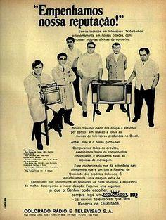 Iba Mendes: Anúncios antigos de aparelhos de Televisão