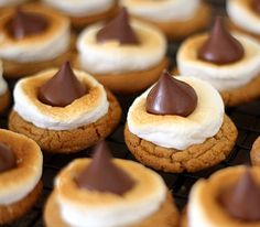 Is there a dessert that isn't frozen that is more summery than S'mores? Nothing says summer like hanging around a camp fire at night with good company roasting marshmallows for some delicious s'mores. That's one reason we had to give this recipe a shot. The other? Cookie butter. If you're unfamiliar with it it's time...