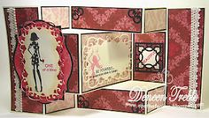 Close To My Heart, Be Yourself, Tri-Fold Card tutorial can be found at Top Tip Tuesday http://toptiptuesday.blogspot.co.uk/2011/11/top-tip-tuesday-challenge-61.html