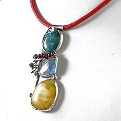 kolorowy wisior - Wisiory - Biżuteria w ArsNeo