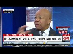Elijah Cummings: 'If the public knew what Congress knows' they would boycott the inauguration too