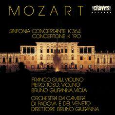 モーツァルト:協奏交響曲 K. 364/コンチェルトーネ(グッリ/トーゾ/パドヴァ・ヴェネト管/ジュランナ) - CD50-8707 - NML ナクソス・ミュージック・ライブラリー