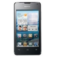 HUAWEI Y300 Android 4.1 SmartPhone MSM8225 Dual Core 4GB 3G GPS 4.0 Inch IPS Screen - Black