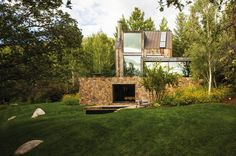 With offices in both Miami and Basel, Switzerland, Chad Oppenheim heads a 30-person architectural practice whose high-profile projects push the boundaries of modernism.Above: Oppenheim's home in Aspen, which he named La Muna. All photos courtesy of Chad Oppenheim Architect + Design  An architect with offices in Miami and Basel, Switzerland, would seem to have two very different points of reference — sunny shores one week, mountain views the next. Yet Chad Oppenheim, designer of ...