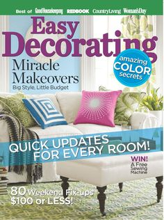 Easy Decorating is packed with tons of inexpensive, quick and easy methods to create rooms you will love. >>> Check this useful article by going to the link at the image. #homedecorcraftideas