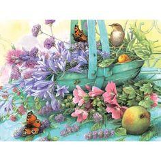 Summer Blooms Jigsaw Puzzle, 300 pcs, Marjolein Bastin - Herrschners