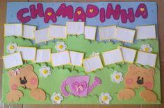 Chamadinha ♥ Casal de Ursinhos Birthday Charts, Classroom Organization, Preschool Activities, Crafts To Make, Safari, Kindergarten, Kids Rugs, Education, Creative