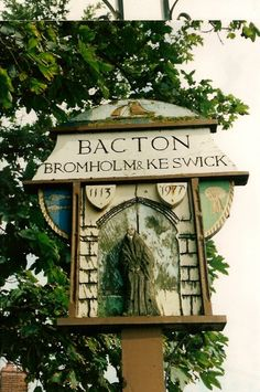 Bacton, Norfolk.