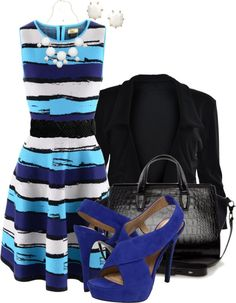 """Stripe Crazy"" by sheavschaaf on Polyvore"