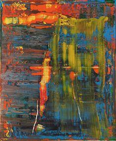 Tableau abstrait [940-2] » Œuvres » Gerhard Rich