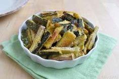 » Zucchine croccanti al forno - Ricetta Zucchine croccanti al forno di Misya