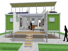 Storage Container Homes Design
