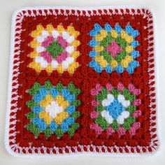 Signed With an Owl: Christmas Afghans Scrapghan Block