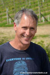 Kevin Sutherland. Winemaker at Bluebell