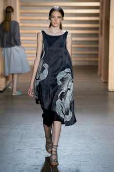 Go Back to Basics With Tibi's S/S 15 Collection via @WhoWhatWear