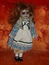 OOAK Recreated Creepy Demon Girl Doll