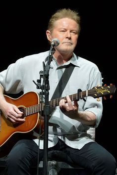 Don Henley - saw him at UNO (University of New Orleans)