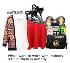 """""""°"""" by royalqueen01 ❤ liked on Polyvore featuring Kate Spade, ATM by Anthony Thomas Melillo and H&M"""