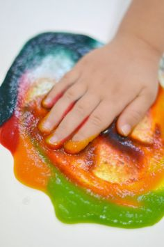 Baby safe paint recipes
