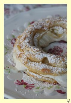 Cocinando... un abril encantado Paris Brest, Pasta Choux, Doughnut, Pancakes, Breakfast, Desserts, Food, Homemade Recipe, Almonds
