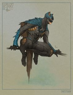 Batman and Wonder Woman and Young Wonder Woman concept art by Kenneth Rocafort Batman Poster, Batman Art, Batman Vs Superman, Batman Robin, Batman Concept Art, Spiderman, Comic Book Characters, Comic Character, Comic Books Art